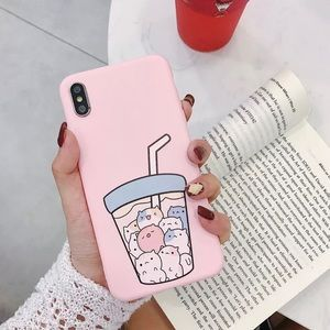 Pink Kitty IPhone Case 🛍 X/XR/XS